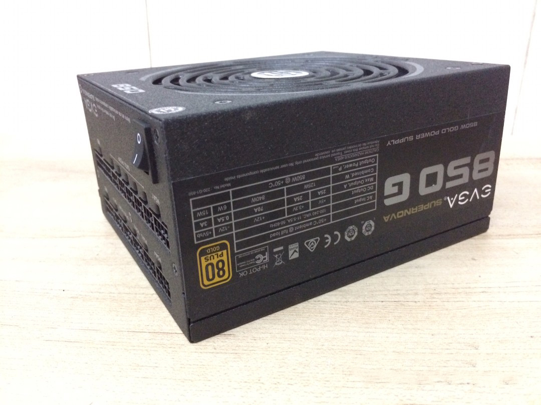 Used Original  850G 850G2 850G3 850P2 850w Power Supply (80plus Gold /full Module)  Desktop Computer Power Supply