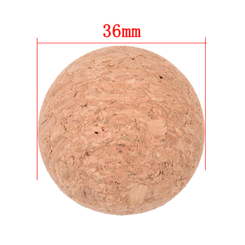new arrival cork solid wood wooden Foosball table soccer table ball football balls baby foot fussball  1Pc 36mm