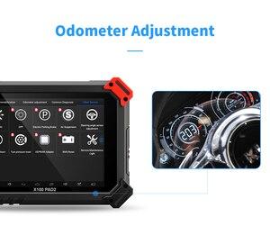 Image 4 - X100 PAD2 pro OBD2 herramienta de diagnóstico profesional para automóviles con programador clave para VW 4th 5th inmovilizador y ajuste automático del odómetro del escáner Actualización gratuita en línea