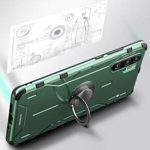 Image 5 - Magiczny pancerz metalowy aluminiowy pokrowiec do Huawei P30 Pro Mate 30 20 Pro pokrowiec z miękkiego silikonu odporny na wstrząsy pokrowiec do Huawei Nova 5 Pro Capa