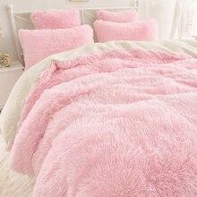 Одеяло из искусственного меха, покрывало, покрывало для кровати, мохнатое, супер мягкое, длинное, плюшевое, Двухслойное, полиэстер, постельное белье для отеля, домашний текстиль