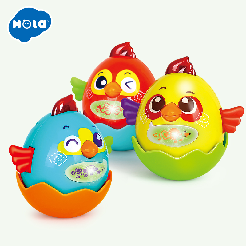 HOLA 3123 Birds Pets Music Electric Bird Singing Bird Toys with Music Christmas Gift For Kids Random Color in Toy Musical Instrument from Toys Hobbies