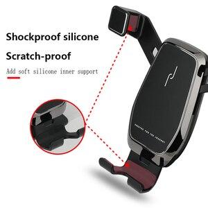 Image 4 - Für Toyota RAV4 Zubehör 2019 2020 RAV 4 Schwerkraft Auto Telefon Halter Gewidmet Air Vent Halterung Clip ständer Handy halter