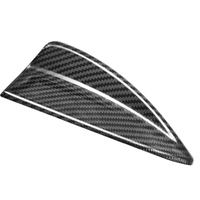 For BMW E90 E92 F15 F16 F20 F21 F26 F45 F46 F48 F85 F86 G01 Carbon Fiber Shark Fin Antenna Cover Trim 3D Sticker Car Accessories