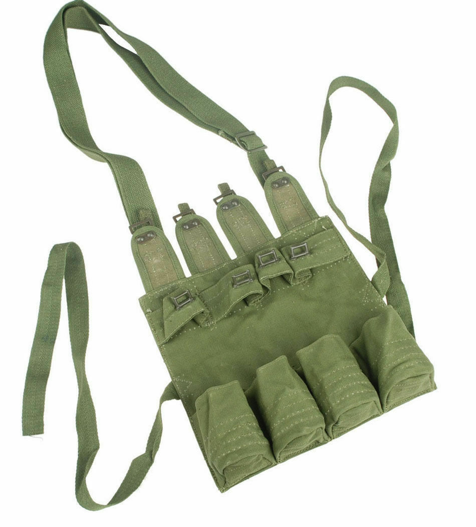 OUTDOORS ORIGINAL SURPLUS CHINESE PLA MILITARY STICK GRENADE MAG POUCH ARMY(China)