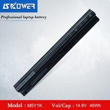 SKOWER Batería de ordenador portátil M5Y1K, para Dell Inspiron 3451, 3551, 3567, 5558, 5758, 14, 15, 3000, Vostro 3458, serie 3558, K185W, WKRJ2, 14.8V40WH