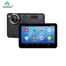 Anfilite 7 Inch dash cam FHD 1080P android DVR GPS Navigation car camera video recorder wifi Capacitive screen 768MB 16GB GPS cheap 1024*600 Bluetooth Charger FM Transmitter MP3 MP4 Players Radio Tuner Touch Screen Vehicle GPS Units Equipment MT8127 Quad-core Cortex-A7 1 3GHz