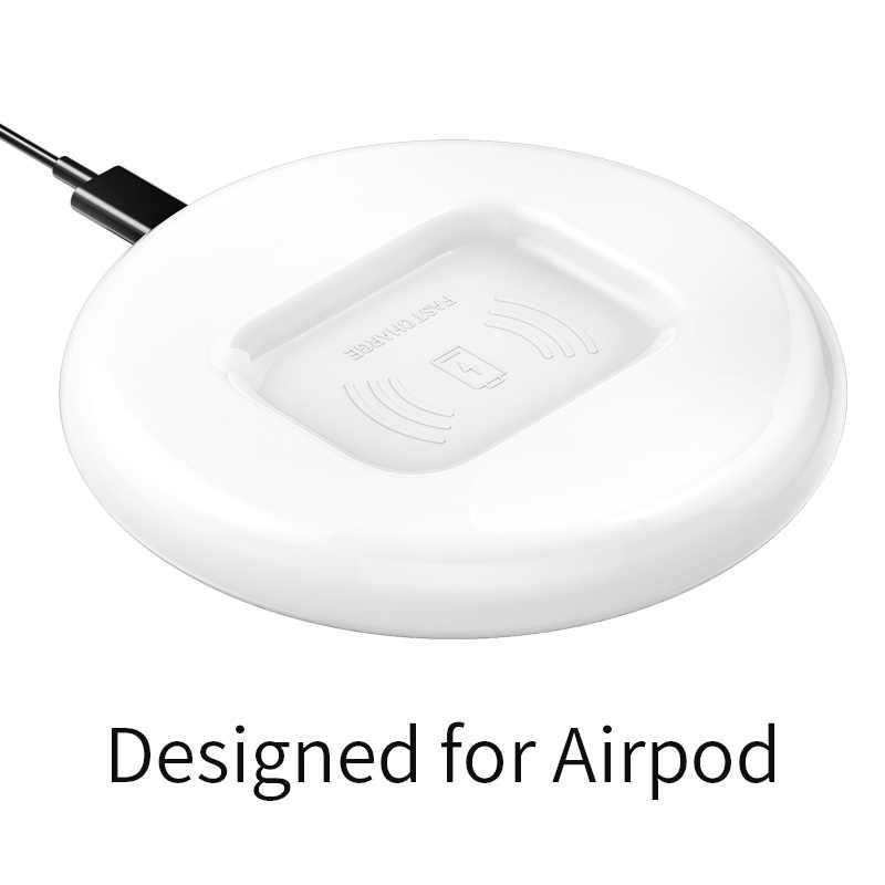 Musumo luxo para apple airpods 2 carregador sem fio para iphone 11 pro max xs xr 8 plus qi rápido carregamento airpod para s10 nota 10 s9