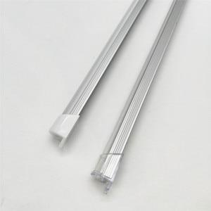 Image 5 - 10 100m muito, 1m por pces, perfil de alumínio led para 5050/5630 tiras HR AP1509, habitação plana frete grátis leitoso capa clara