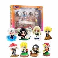 8 teile/satz Anime Boruto-Naruto Nächsten Generationen Action Figure Shodai Senju Hiruzen Minato Tsunade Kakashi Q Ver. PVC Modell Spielzeug