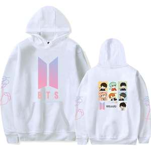 BTS Bulletproof Boys Related Products Collection-Autumn Clothing plus Velvet Hoodie Hoodies