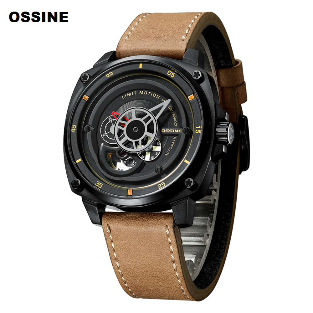 Watch Men Skeleton Tourbillon Automatic Mechanical Watch Mens Fashion Stainless Steel Waterproof Luxury Brand Watches New 2019