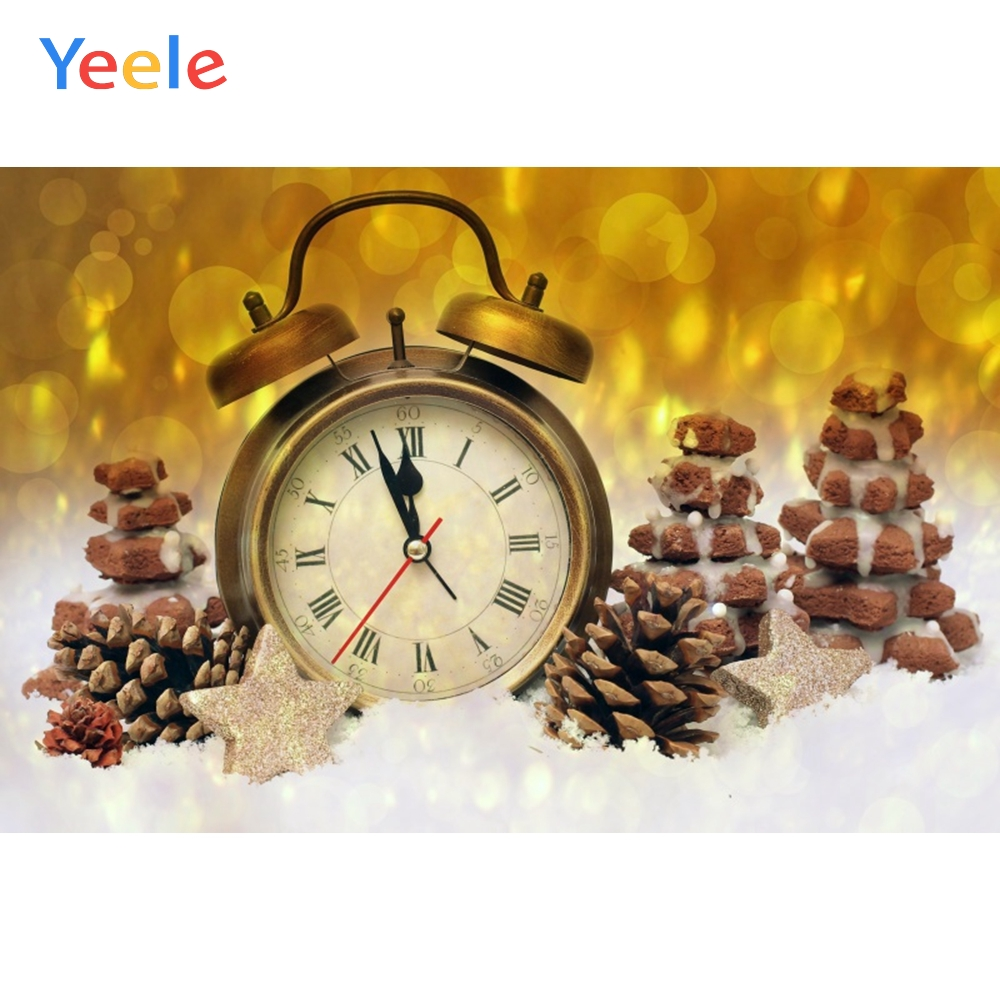 Yeele Christmas Photocall Countdown Bokeh Light Nut Photography Backdrops Personalized Photographic Backgrounds For Photo Studio in Background from Consumer Electronics