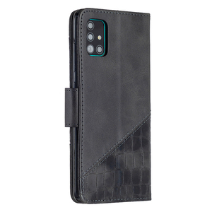 Image 2 - Luxury Leather Case For Samsung Galaxy S20 Ultra S10 Note10 Lite S9 Plus Crocodile Flip Book Case For Samsung S 20 Note 10 Plus