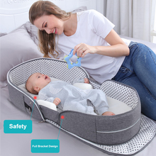 Multi-Function Foldable Travel Portable Sleeping Baby Bed Crib For Baby Mosquito Nest For Newborns Portable Cribs For Baby Bed
