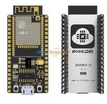 אמיתי NodeMCU ESP32 Lua WiFi IOT ESP32 פיתוח לוח ESP32 WROOM 32 Dual Core אלחוטי WIFI BLE מודול Ai החושב