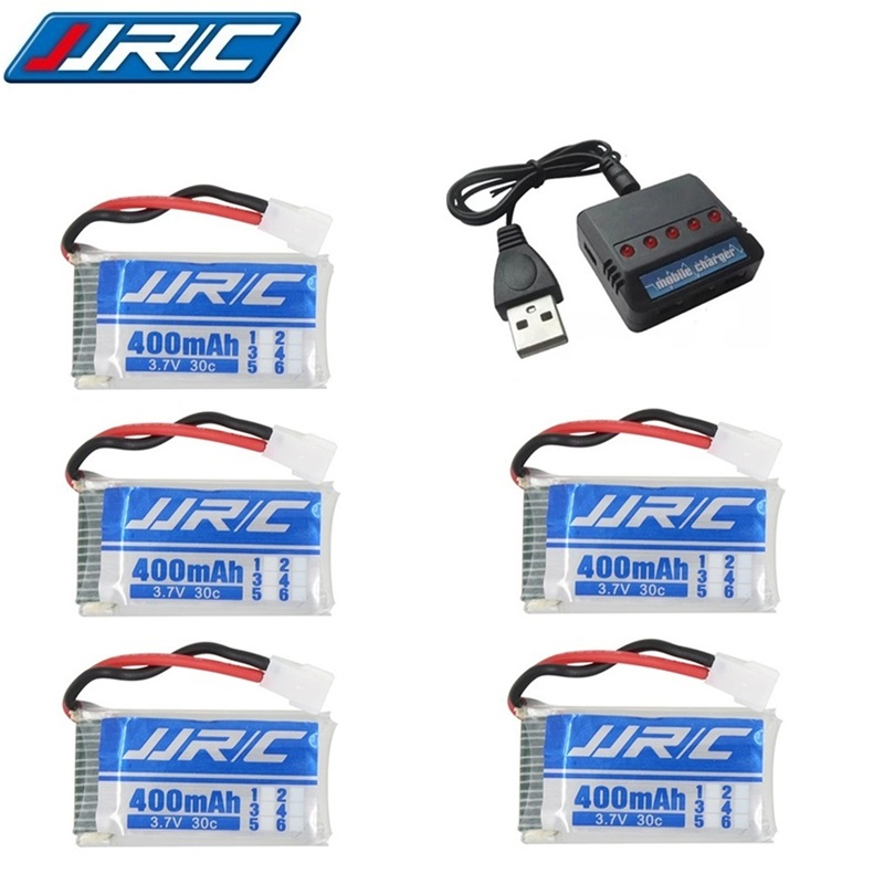 Original Battery and charger 3.7V 400mah 30C Rechargeable Battery for JJRC H31 RC Spare Parts 3.7V Lipo battery For JJRC H31(China)