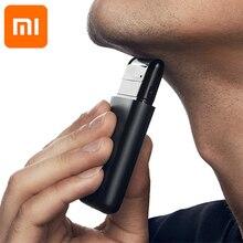 Taglierina Xiaomi originale Super sottile rasoio elettrico ricaricabile nero impermeabile Xiaomi rasoio di alta qualità