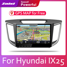 ZaiXi 2din Car multimedia Android Autoradio Car Radio GPS player For Hyundai IX25 Cantus 2015~2020 Bluetooth WiFi Mirror link