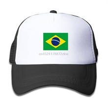 Flag of Brazil Children Sport Cap(China)