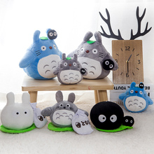 High Quality 20/30cm Kawaii Cute Cartoon Movie Soft Totoro Plush Toy Stuffed Birthday gift Christmas gifts