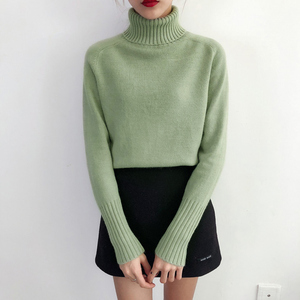 Image 2 - Heyezui Sweater Female 2019 Autumn Winter Cashmere Knitted Women Sweater And Pullover Female Tricot Jersey Jumper Pull Femme