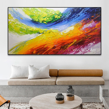 цена Oil painting 100% Hand painted Modern Landscape Oil Painting on the Wall Art Picture For Living Room Home Decor canvas Painting
