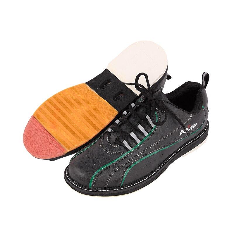 Мужская обувь для боулинга с нескользящей подошвой профессиональная спортивная