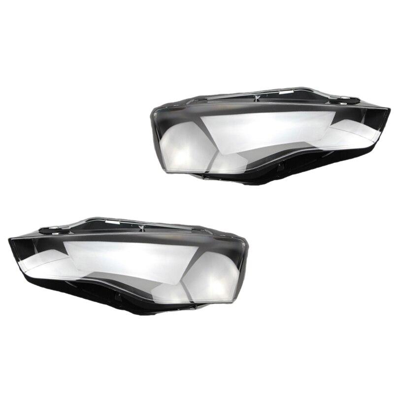 2 pièces couvercle de phare de voiture couvercle de phare de remplacement pour-Audi A5 2012-2016