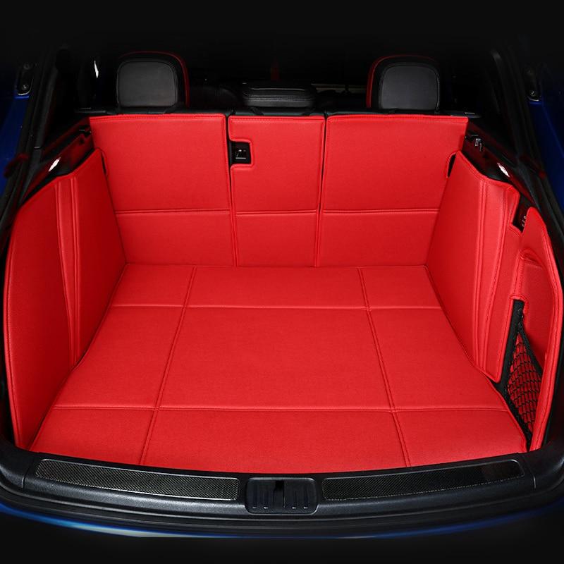 Trunk Mat Car Boot Liner Cargo Carpet Durable Waterproof For Volvo S60 2011-2017