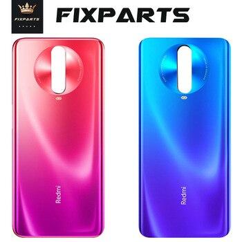 Перейти на Алиэкспресс и купить 4G 5g задняя Стекло крышка для Xiaomi Redmi K30 Батарея на домашнию дверь Корпус чехол Панель Замена для Redmi K30 Батарея крышка