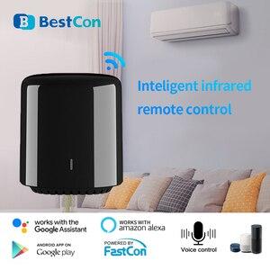 Image 3 - Broadlink RM4C Mini commutateur WIFI de mouvement de haricot noir télécommande intelligente IR domotique intelligente fonctionne avec Google Home