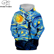 PLstar Cosmos nightmare before christmas jack skellington 3d hoodies/shirt/Sweatshirt Winter Christmas Halloween streetwear-7