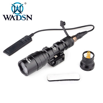 WADSN Tactical Flashlight M300AA MINI SCOUT LIGHT Remote Dual Switch Airsoft Torches Softair Pistol Light WNE04061 Weapon Lights
