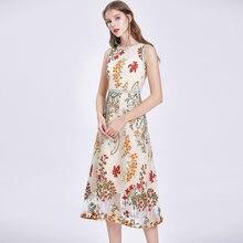 Женское офисное платье без рукавов zuoman элегантное Сетчатое