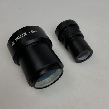 Agnicy Astronomical Telescope Accessories 2X Doubled Barlow Mirror Barlow Optical Lens 2 Inches 50.8mm фото