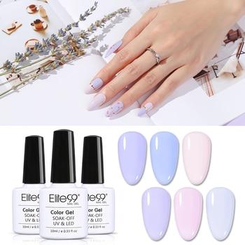 Elite99 10ml Lavendel Farbe UV Gel Nagellack Nail art Lack Hybrid Soak Off Gel Lack Glück Nagel Farbe gel Polnisch Gellak
