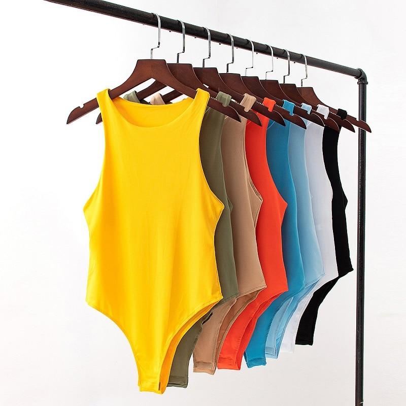 Maglione body suit donna casual Sexy Slim beach tuta pagliaccetto ragazza body solid brand suit abbigliamento abbigliamento catsuit top para 2