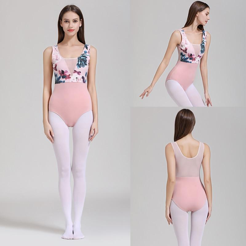 Ballet Leotards Adult 2019 New Design Practice Ballet Dancing Costume Women High Quality Gymnastics Leotard Dance Coverall