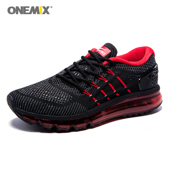 ONEMIX 2020 Air Cushion Men Running Shoes Breathable Massage Sneakers Man Jogging Sport Outdoor Walking Shoes Run Comfortable