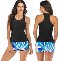 Surfing swimsuits for women Swimwear 2 Piece Sexi Swimwear Woman Bath Suit Rash Guard Swimwear Surfing Swim Suit Sport Rashguard