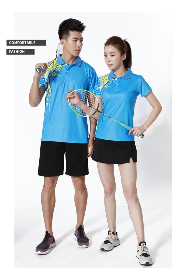 saia badminton jerseys e shorts roupas esportivas