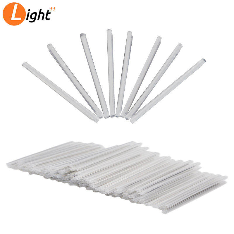 1000pcs/lot Fiber Cable Protection Sleeves 40mm 45mm 60mm*1.2mm FTTH Heat Shrink Splice Heat Shrink Tube