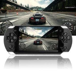 """Image 3 - Handheld Game Console 4.2"""" 5"""" LCD X6 X9 plus Double rocker 8G Retro  Video MP5 TF Card for GBA/ 1000 Games"""