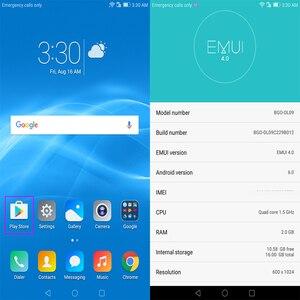 Image 5 - Globalny Rom HUAWEI MediaPad T2 7.0 cala LTE 4G telefon czterordzeniowy 2G RAM 16G Rom android 6 2MP 4100mah IPS T2 tablet pc 7 cali