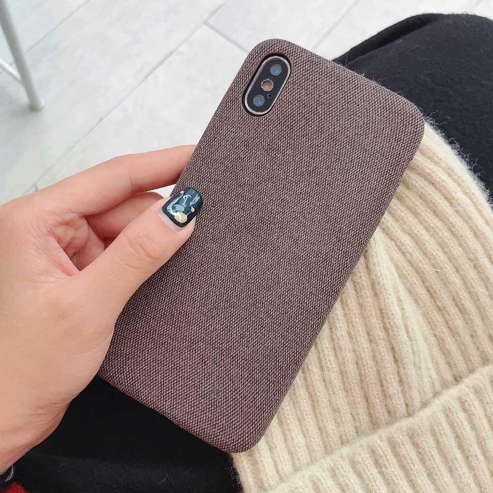Boucho для iphone Xs MAX XR X XS чехол s крокодиловая текстура чехол для телефона для iphone 11 Pro max 7 8 6 6S Plus Роскошный чехол из искусственной кожи - Цвет: Cloth brown