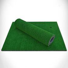 купить Green Golf Mat Training Aids Outdoor/Indoor Hitting Pad Practice Grass Mat Golf Training Mat Grassroots 60x30CM дешево