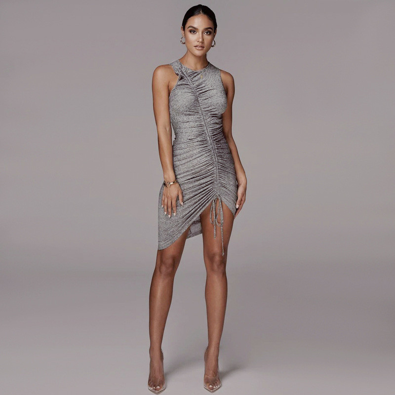 sleeveless mini short dress27
