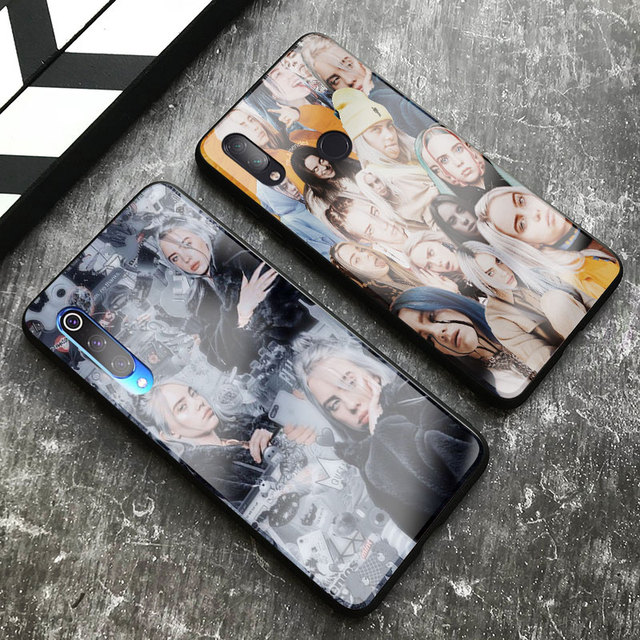BILLIE EILISH XIAOMI PHONE CASE (8 VARIAN)
