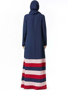 Abaya Muslim Fashion Women Party Hijab Dress Plus Size Islamische Kleidung